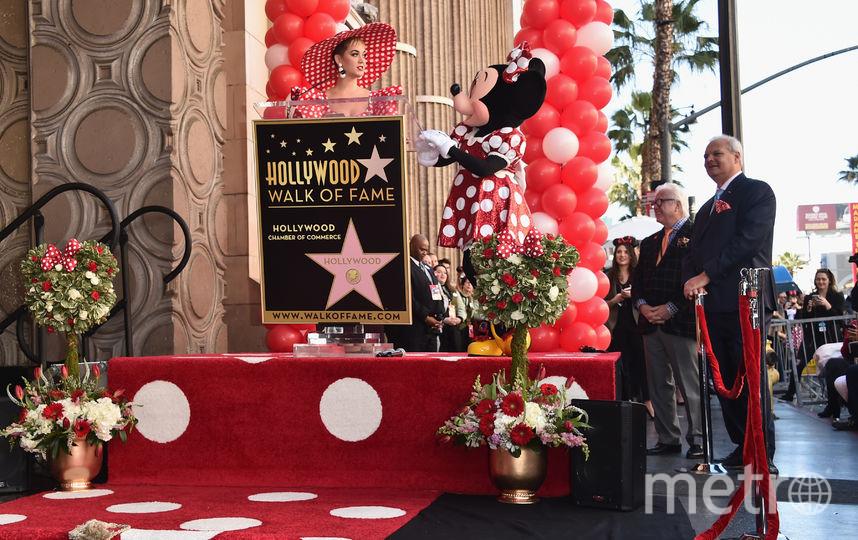 "Хайди Клум, Кэти Перри, Роберт ""Боб"" Айгер. Фото Getty"