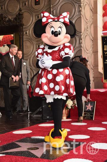 Минни Маус получила звезду на Аллее славы.. Фото Getty