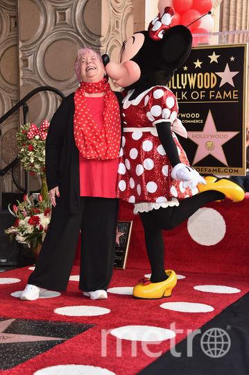 Хайди Клум с Минни Маус. Фото Getty