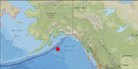 Аляске угрожает цунами после мощного землетрясения