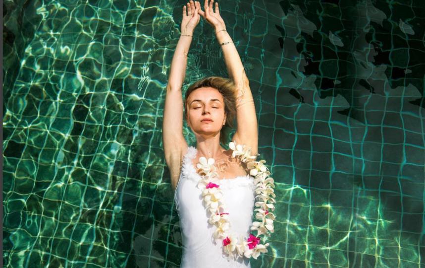Полина Гагарина на Мальдивах. Фото instagram.com/isxakov