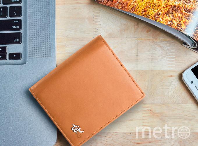 Умный кошелёк. Фото Woolet