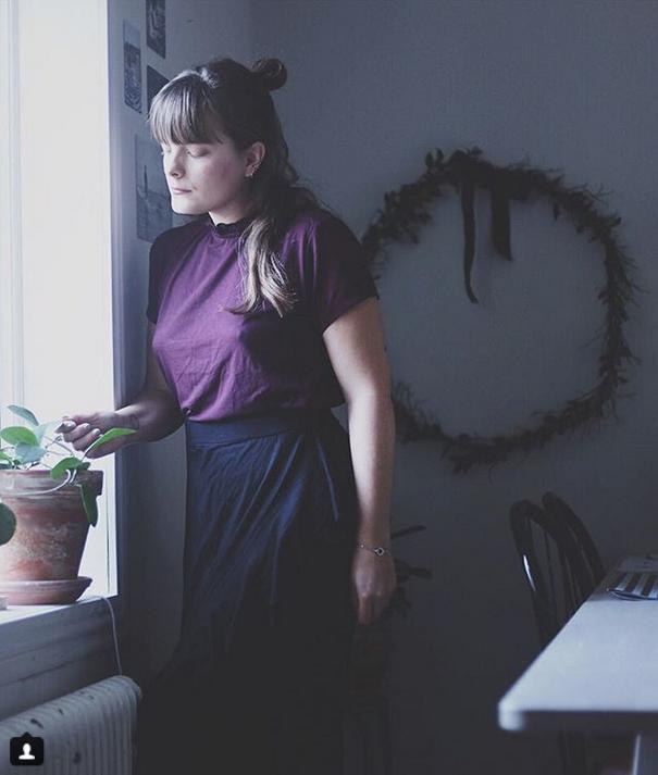 Женщины отстаивают право ходить без белья: Фото. Фото Скриншот Instagram: @ingridwenell