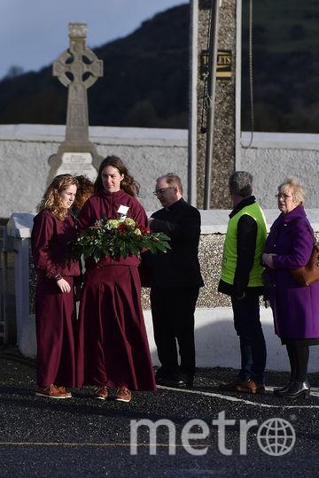 Долорес О'Риордан похоронили в Ирландии. Фото Getty