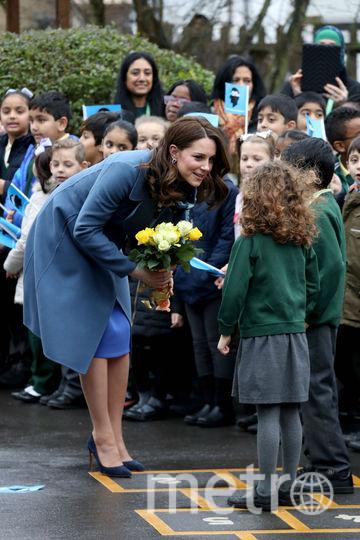 Кейт Миддлтон прибыла в школу. Фото Getty