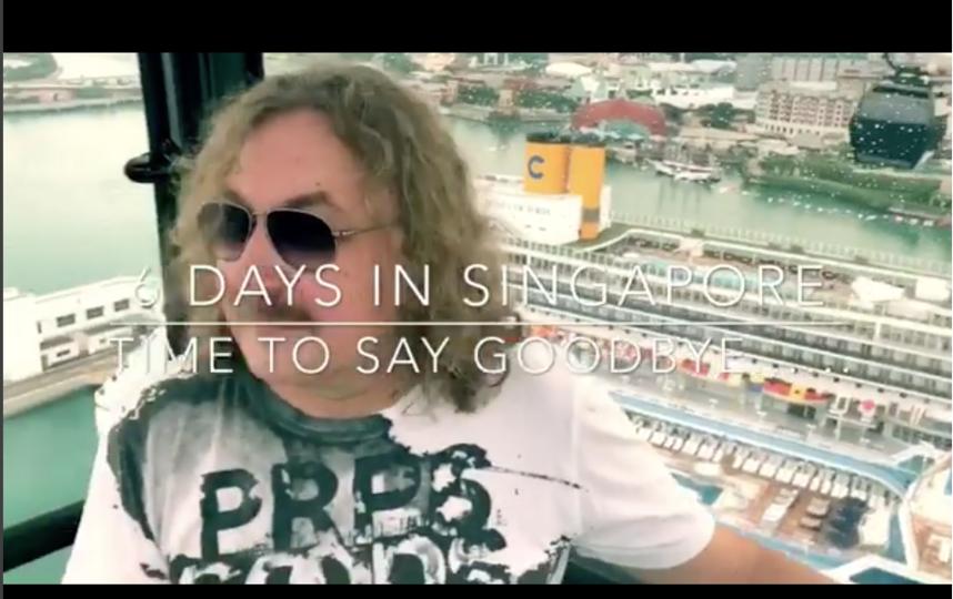 Игорь Николаев поделился видео из Сингапура. Фото instagram.com/igor_nikolaev_music