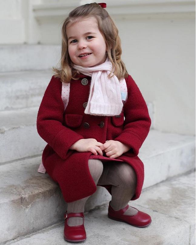 Принцесса Шарлотта, фотоархив. Фото Скриншот @instagram.com/kensingtonroyal/