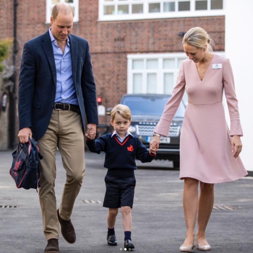 Принц Уильям с сыном Джорджем, фотоархив. Фото Скриншот @instagram.com/kensingtonroyal/