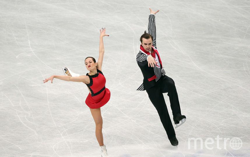 Ксения Столбова, выступающая в парном катании с Федором Климовым. Фото Getty