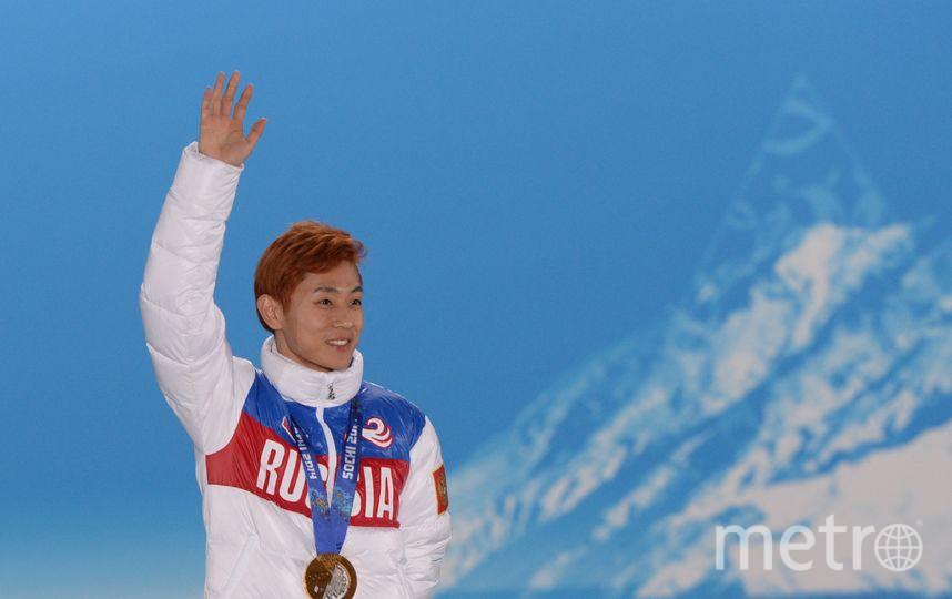 Шорт-трекист Виктор Ан недопущен к Олимпиаде по данным СМИ. Фото РИА Новости