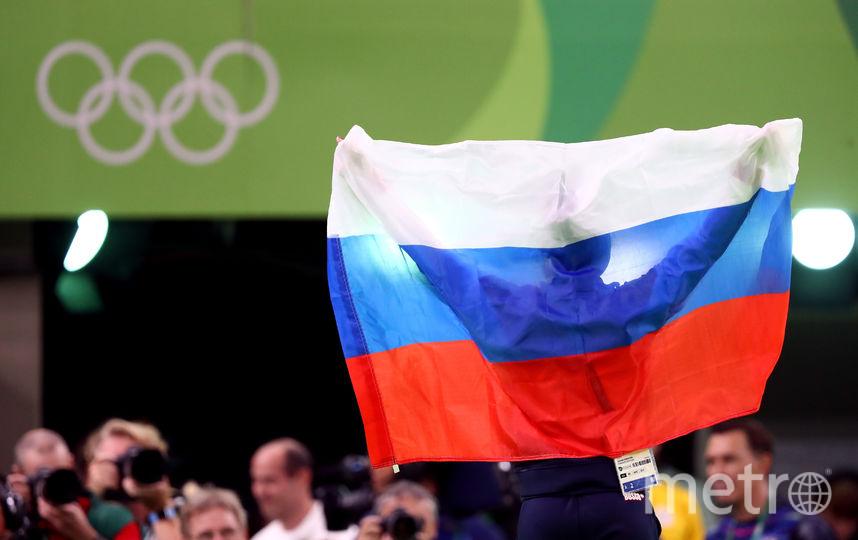Флаги Росии на Олимпиаде в Южной Корее - под запретом. Фото Getty