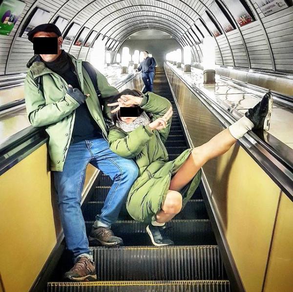 """""""Если уж ехать в метро, то только так"""". Фото Скриншот instagram.com/proolga.ru/"""