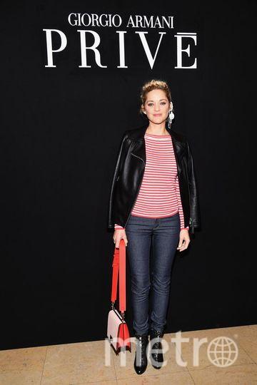 Марион Котийяр на Неделе высокой моды в Париже. Фото Getty