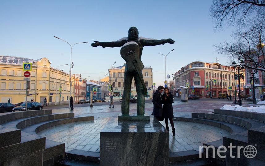 Памятник Владимиру Высоцкому. Фото Василий Кузьмичёнок