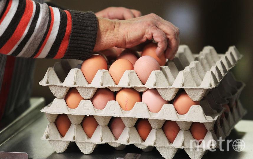 Куриные яйца. Фото Getty