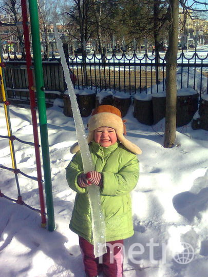 Фото моей дочери. Фото Алексей Метелёв