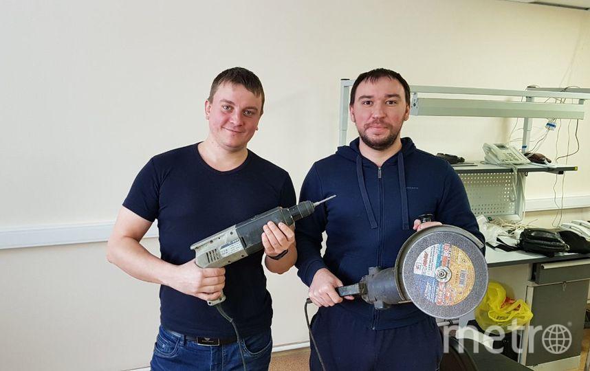Слева на фотографии Губин Владимир справа Беляков Алексей. Фото Губин Владимир