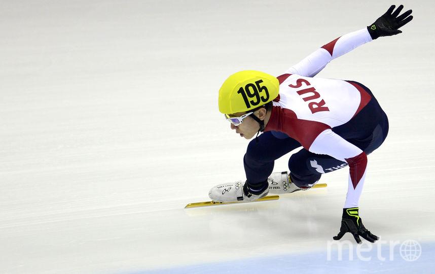 Конькобежец Виктор Ан. Фото AFP