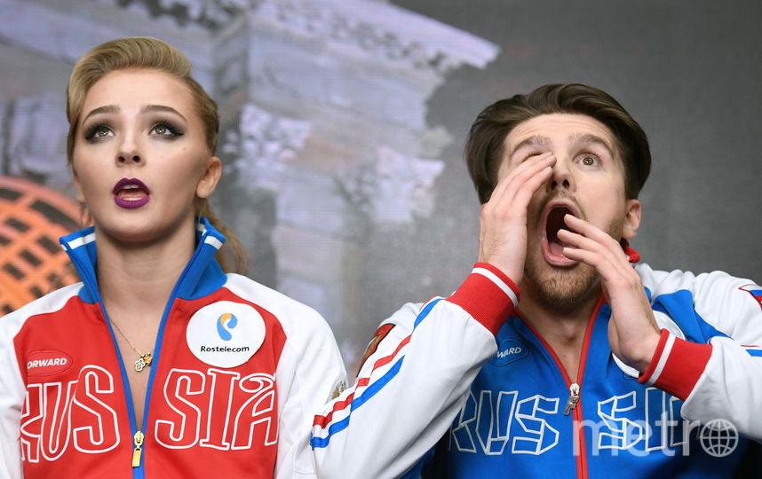 Фигуристы Александра Степанова и Иван Букин. Букина не допустил МОК. Фото AFP
