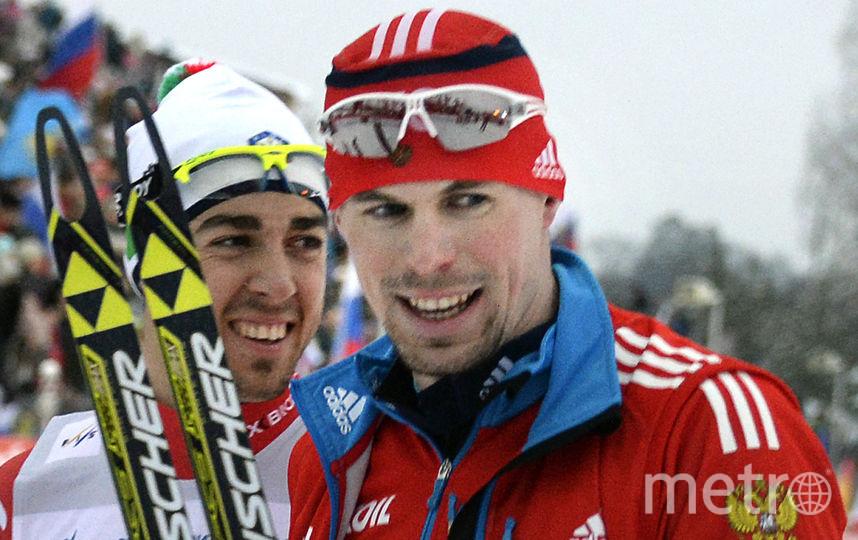 Лыжник Сергей Устюгов. Фото AFP