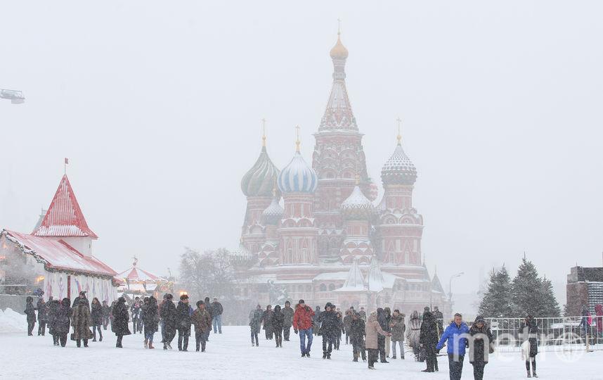 Москвичей ждёт парад снеговиков и лекции в столичных парках. Фото Василий Кузьмичёнок