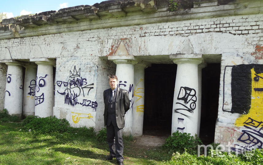 Студента Иванова из «Бесов» убили якобы здесь. Фото Предоставлено Александром Оришевым
