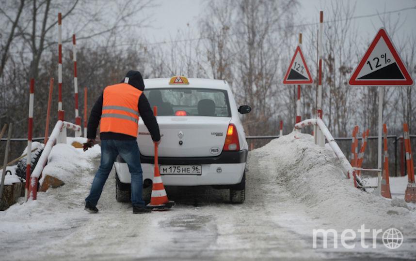 """Сдача """"площадки"""" в ГИБДД. Фото РИА Новости"""