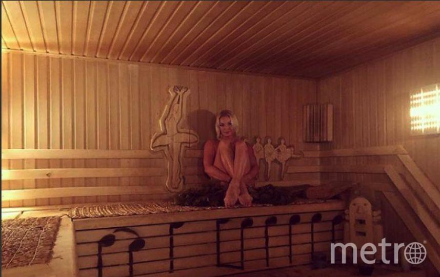 Волочкова показала фото из бани. Фото https://www.instagram.com/volochkova_art/