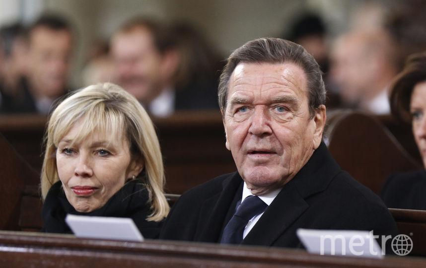 Герхард Шрёдер с бывшей четвертой женой Дорис. Фото Getty