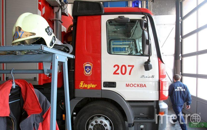 В детском саду на северо-западе Москвы произошёл пожар. Фото Василий Кузьмичёнок