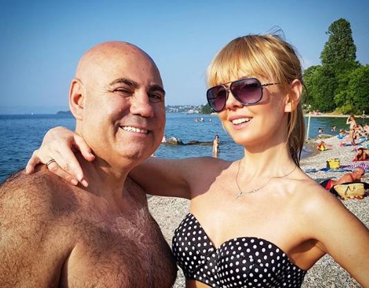 Певица Валерия и Иосиф Пригожин. Фото www.instagram.com/valeriya