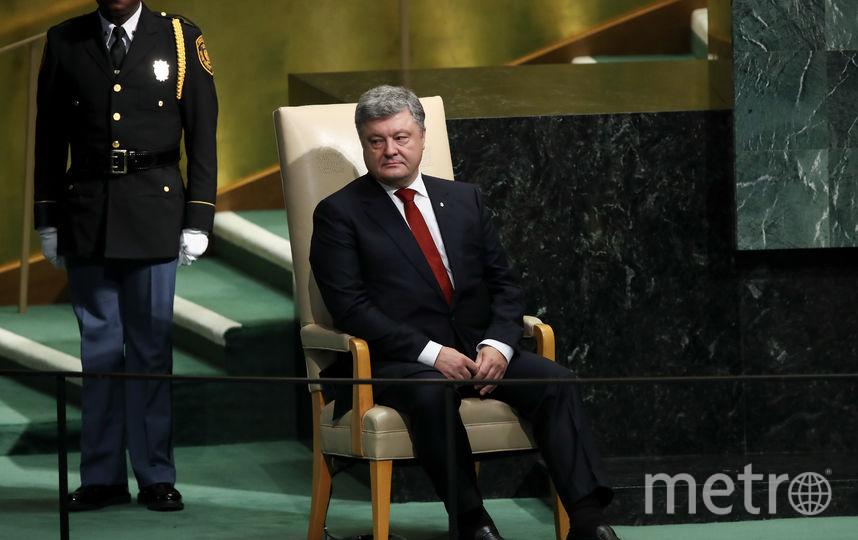 Пётр Порошенко. Фото Getty