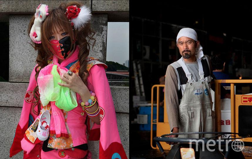 Работа испанского фотографа Карлоса Эсколастико «Два абсолютно разных мира», которая будет представлена на выставке о Токио в Дарвиновском музее. Фото предоставлено пресс-службой дарвиновского музея