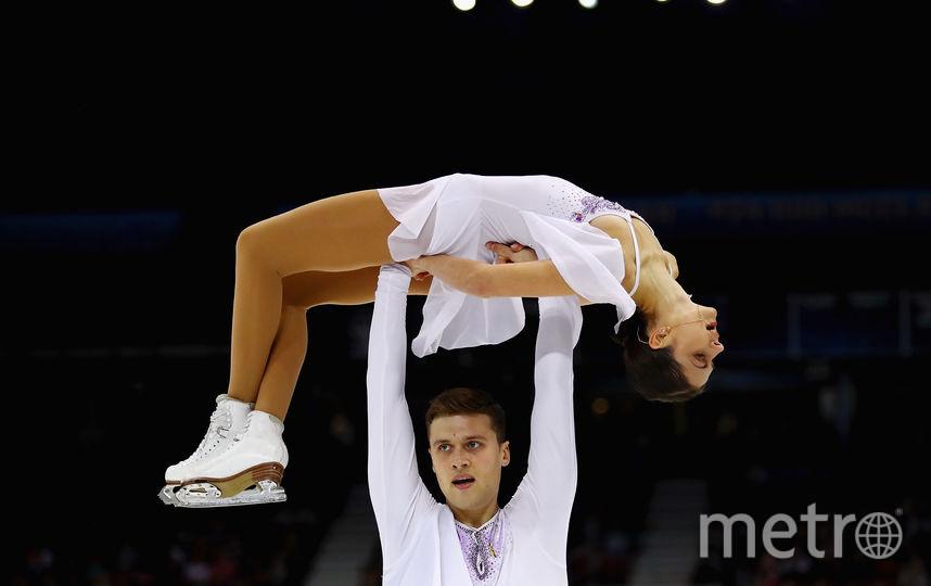 Александр Энберт и Наталья Забияко. Фото Getty