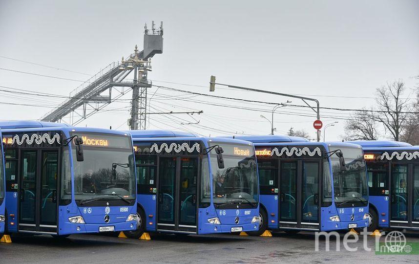 Схему движения автобусов 7 маршрутов изменят в Москве. Фото Василий Кузьмичёнок
