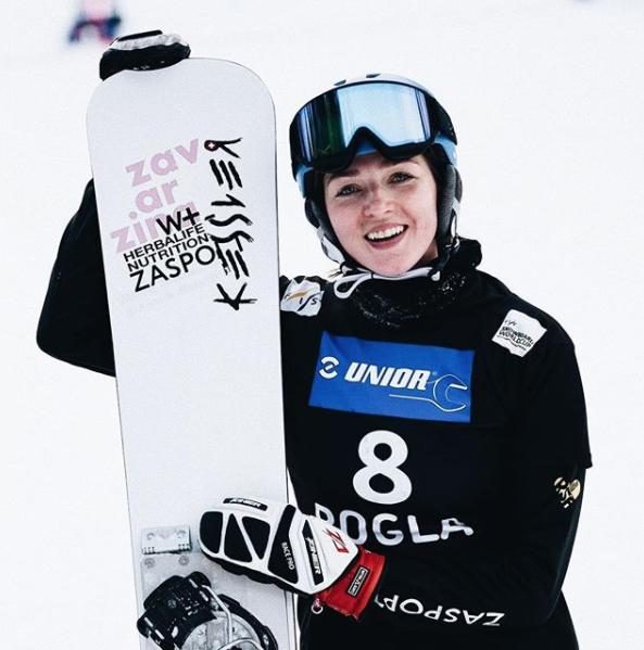 Алёна Заварзина, сноуборд. Фото https://www.instagram.com/superzina/?hl=ru