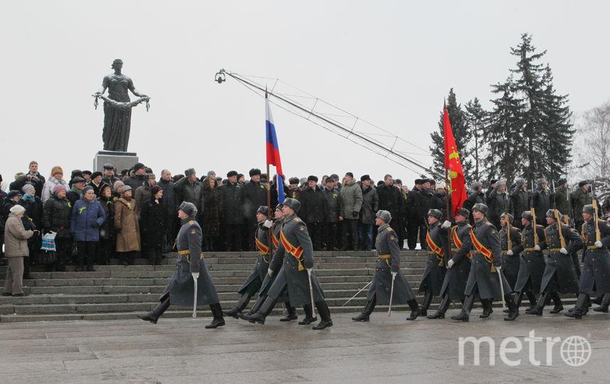 Пискаревское кладбище. Фото gov.spb.ru