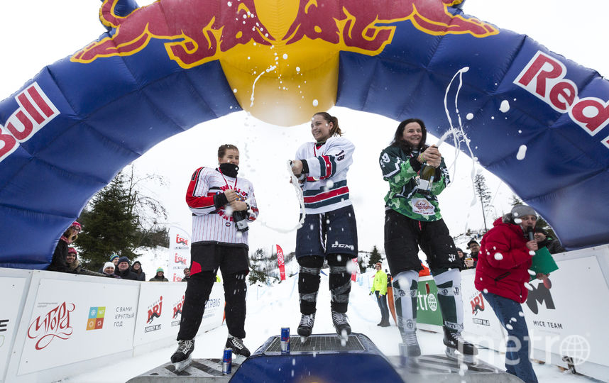 Финал женского забега на Red Bull Riders Cup Russia.
