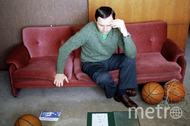 Тренер Владимир Кондрашин.