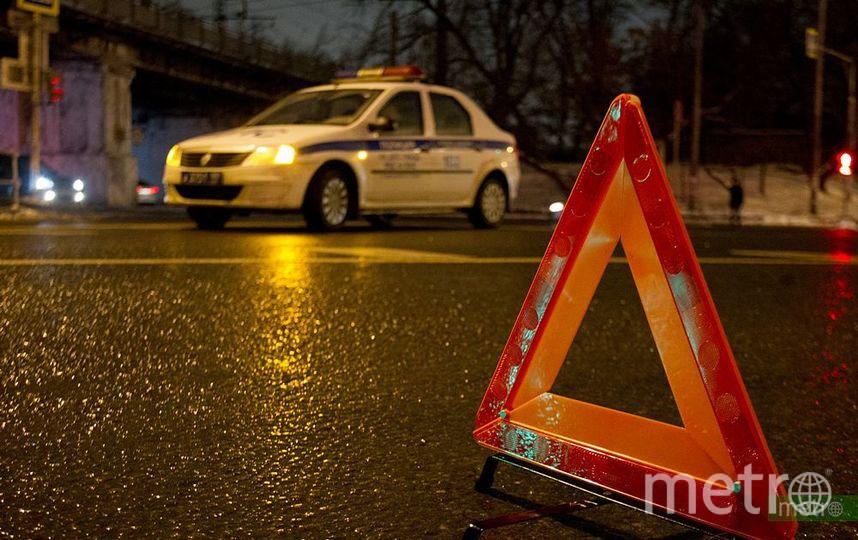 Семь авто столкнулись наюго-востоке столицы
