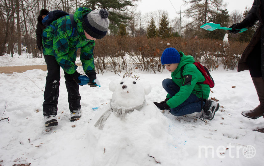 Снеговик Умка. Фото Василий Кузьмичёнок