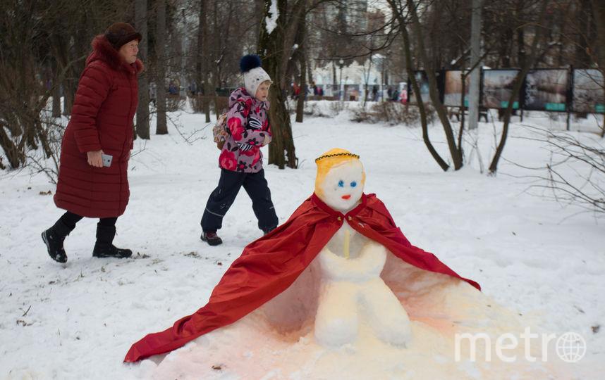 Снеговик-Жрица. Фото Василий Кузьмичёнок