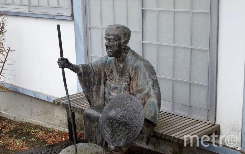 Скульптура в Ботаническом саду. Фото vk.com/botsad_spb, vk.com