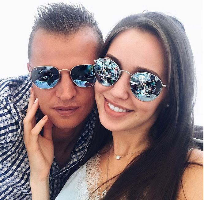 Анастасия Костенко и Дмитрий Тарасов, фотоархив.