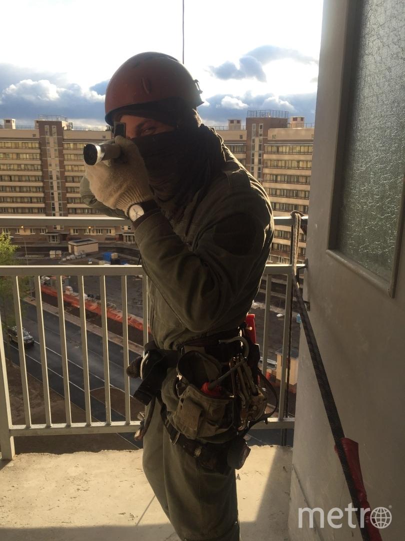 Балаухин Иван Александрович. Работаю промышленным альпинистом.