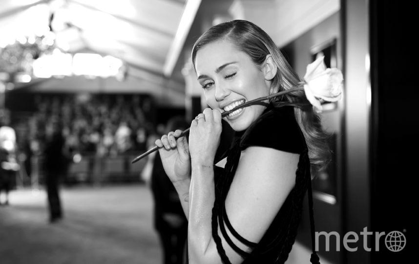 """Майли Сайрус на """"Грэмми-2018"""". Фото Getty"""