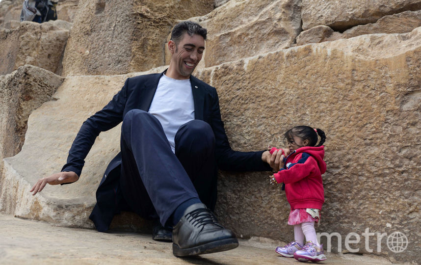 Султан Кессен и Джоти Амджи. Фото AFP