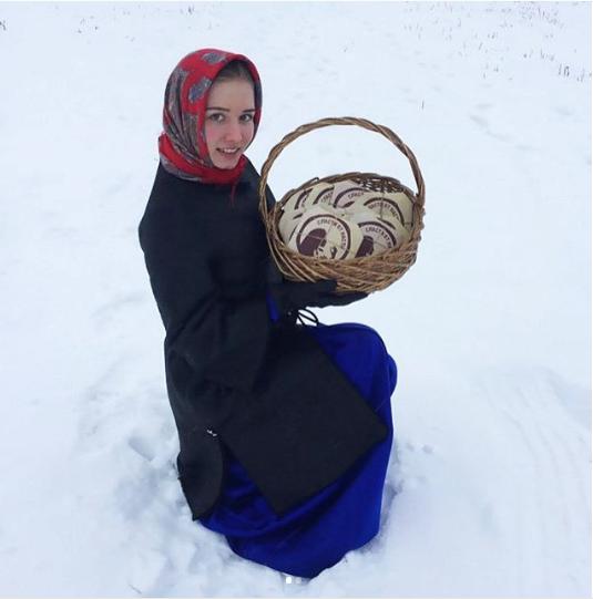Анастасия Гостынская. Фото Instagram Анастасии.
