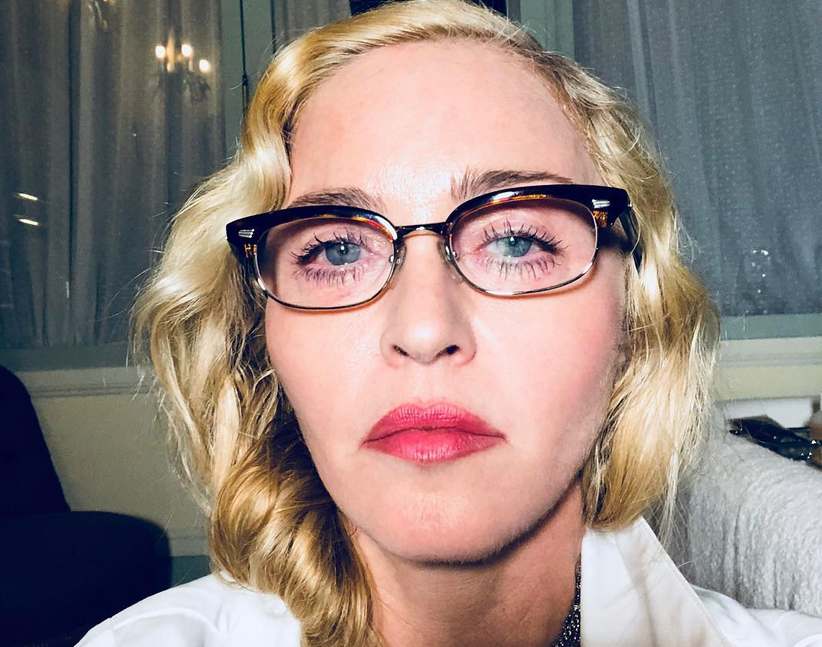Мадонна, фотоархив.
