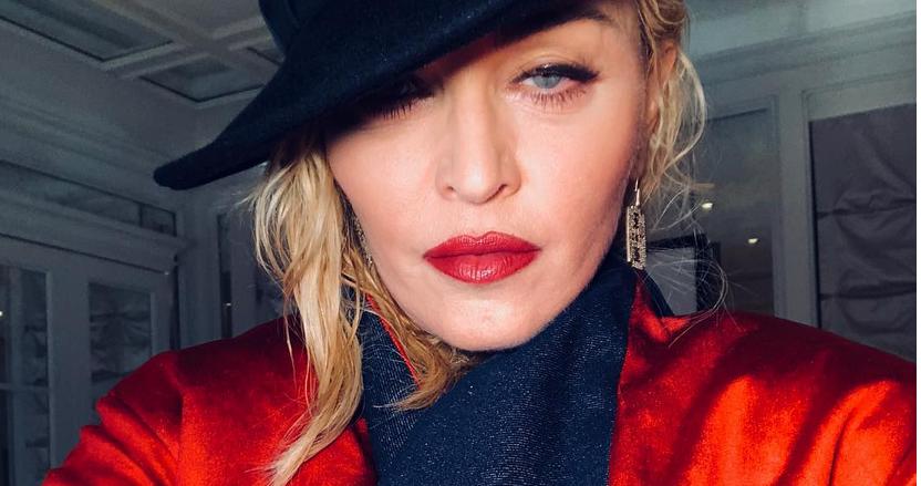 Мадонна, фотоархив. Фото все - скриншот https://www.instagram.com/madonna